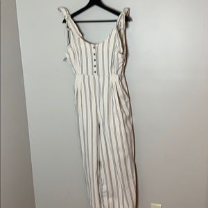 Free People Pleaded Overalls, size 6